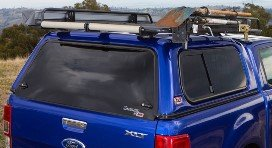 Кунг Arb на Ford Ranger Double Cab 2011+ стандартной крышей